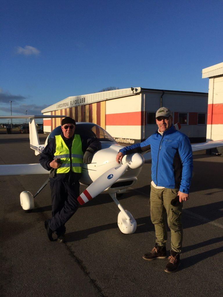 Grattis till första EK flygning!