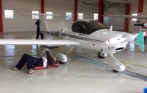 Motorflygare i Landskrona Flygklubb