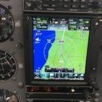 Under provflygning på hemmaplan