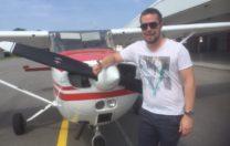 Grattis till första EK flygning – Kenneth Eriksson!