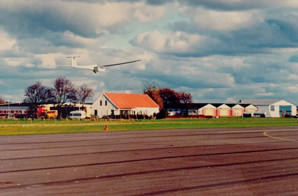 segelflygplan landar